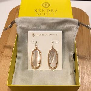Kendra Scott Rose Gold Elle Earrings